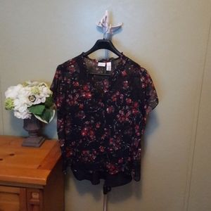 Woman's floral blouse